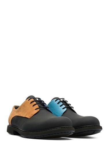 %100 Deri Bağcıklı Ayakkabı-Camper